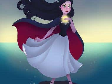 Vanessa - The Little Mermaid