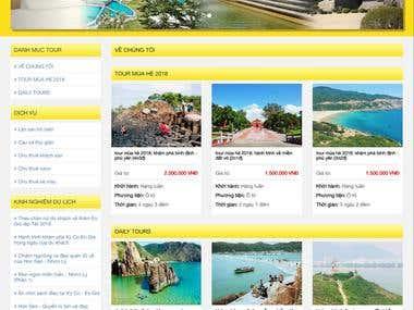 Du lịch biển đảo Kỳ Co - A travel wesite