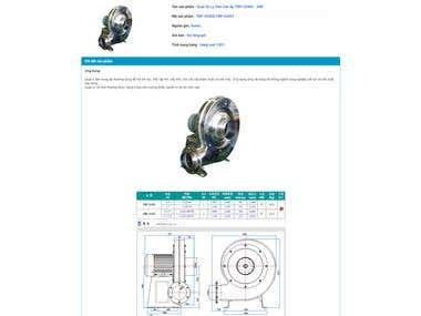 Korfan - A website mainly sell Korea Industrial Fan