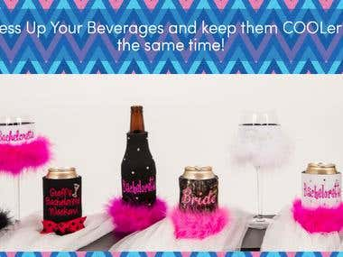 Dress Up Your Beverages and keep them COOLer