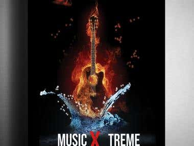 Poster Design -Music Theme