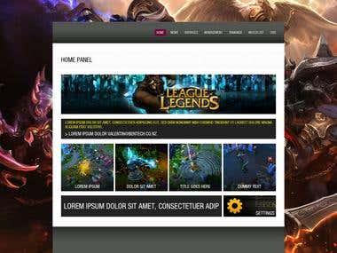 League of Legends Website