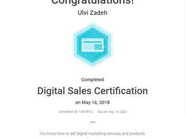 Google Adwords - Digital Sales Certification