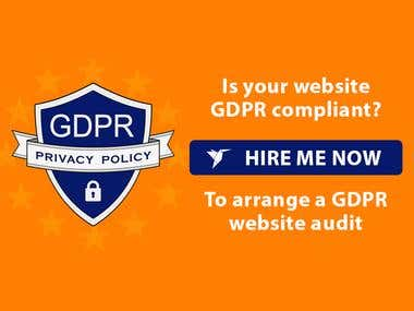 Get your website GDPR ready