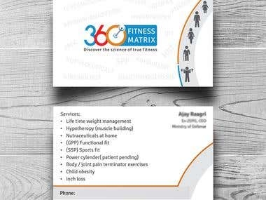 Business Card of 360 Fitness