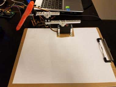 Robot Arm for Writing