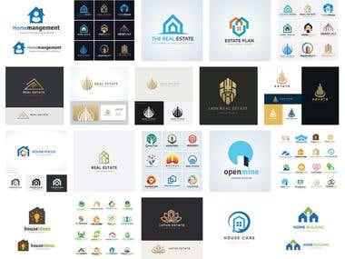 House & Real Estate Logo
