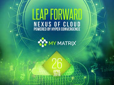 MyMatrix Event Invitation Flyer