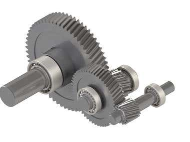 Gear Train For Gearbox Design