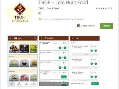 TROFI - Lets Hunt Food