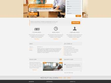 Your Home Town Mover Website Design