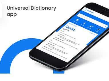Dictionary App Template on Firebase | Offline Capability