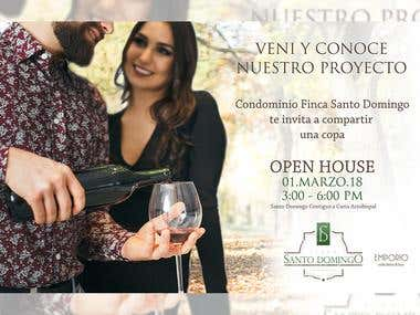 Invitación Open House
