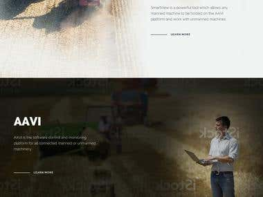 Website for the future of Agriculture