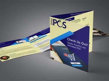 Square Tri-fold Brochure.