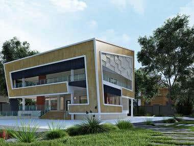 exterior design - Akhkavan villa