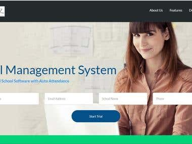 Web developement - School Management System