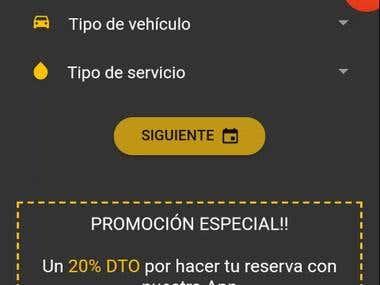Car Wash Booking App