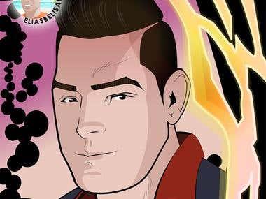 Marvel style avatar