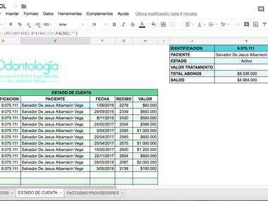 Excel Formulation