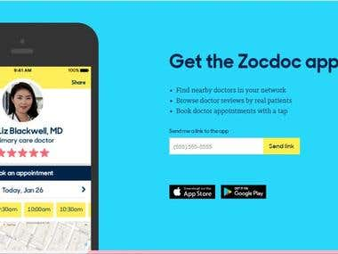 Android App - Zocdoc: Find a Doctor.