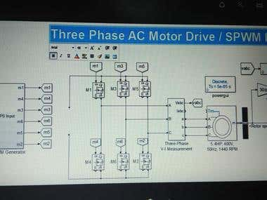 simulation of electrical system