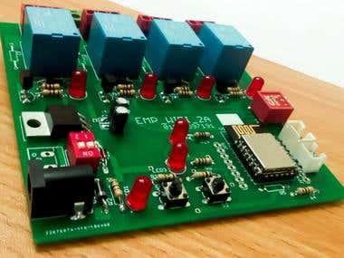 ESP WIFI IOT Circuit