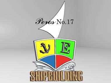 3d ship logo17