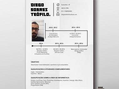 Currículo + Behence - Diego Teófilo