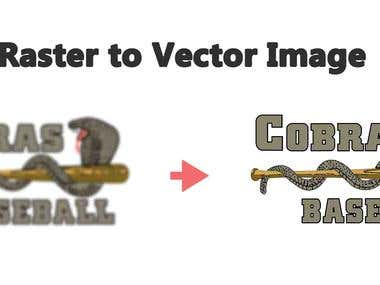 Raster to Vector Image