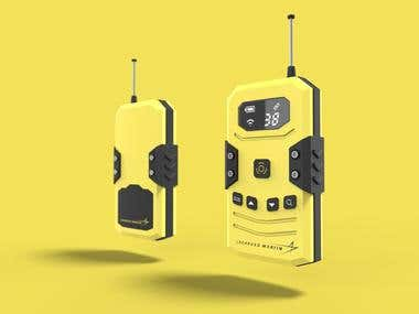 Walkie talkie design