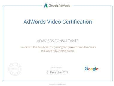 Video Ads Certification From Google