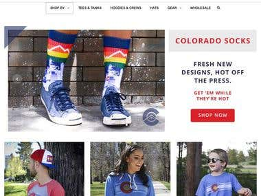 COLORADO eCommerce Store With Shopify