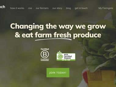 The first 100% Australian Certified Organic CSA Project