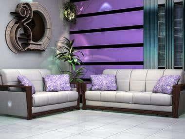 Furniture model