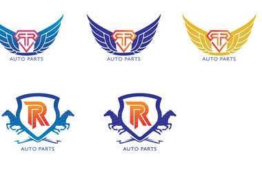 Logo for RR Auto Parts