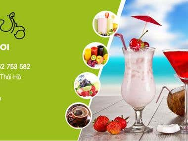 Thiết kế website + hình ảnh cho HOAQUASACH
