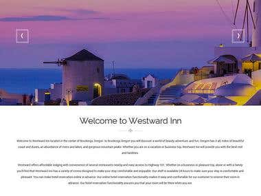 WESTWARDINN HTML5 with Bootstrap