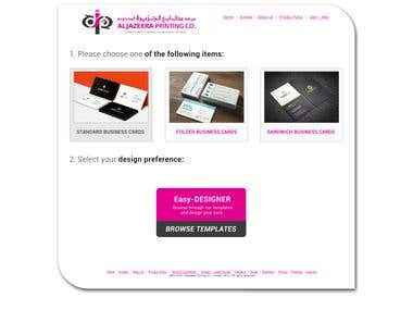 Business Card Designer Tool