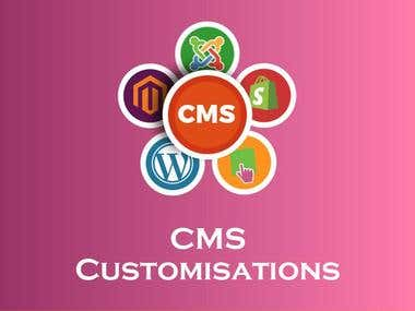 CMS customisations
