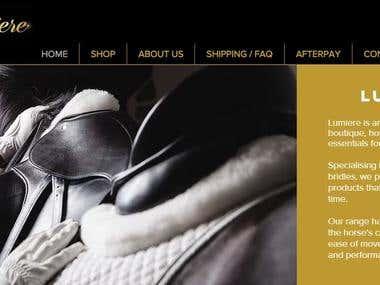 Web copy design example