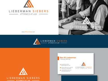 Logo and Branding Designs for a New Law Firm
