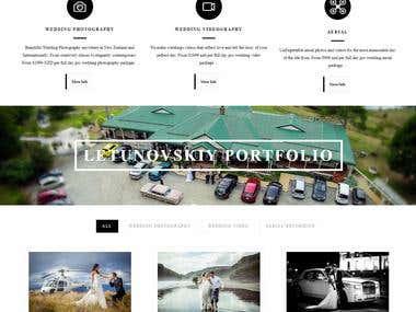 Weddingphotographer - Wordpress