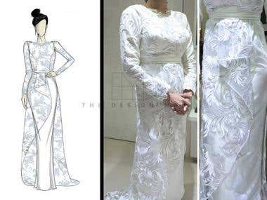 Bridal Gown Design & Development