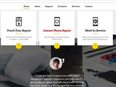 Business Website : Wordpress developemnt