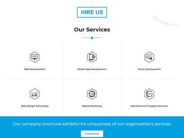 Wordpress Based Website Design & Development