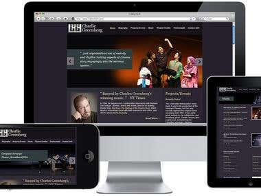 Charles Greenberg Music Website