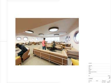 Multipurpose building design and rendering