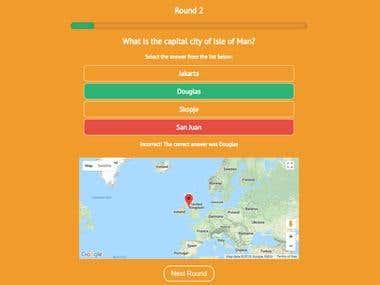 ReactJS Quiz App
