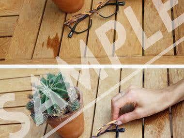 Photo retouching - Objects
